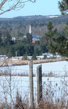 Garden Hill United Church from County Road 10